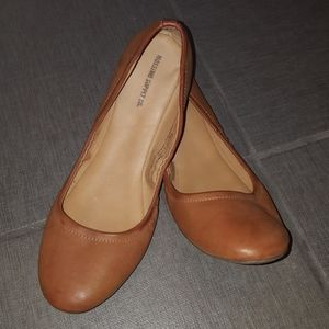 Mission Supply Co. Brown leather look Flats